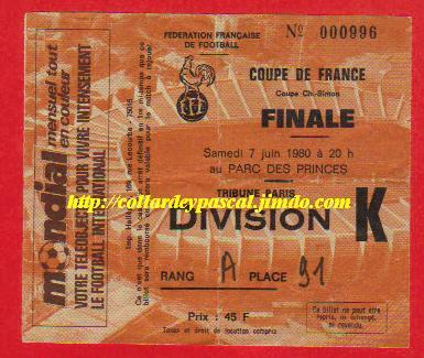 1980 : AS Monaco bat FC Orléans  3 - 1