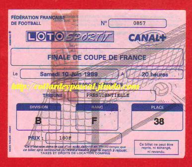 1989 : Ol. Marseille bat AS Monaco 4 -3