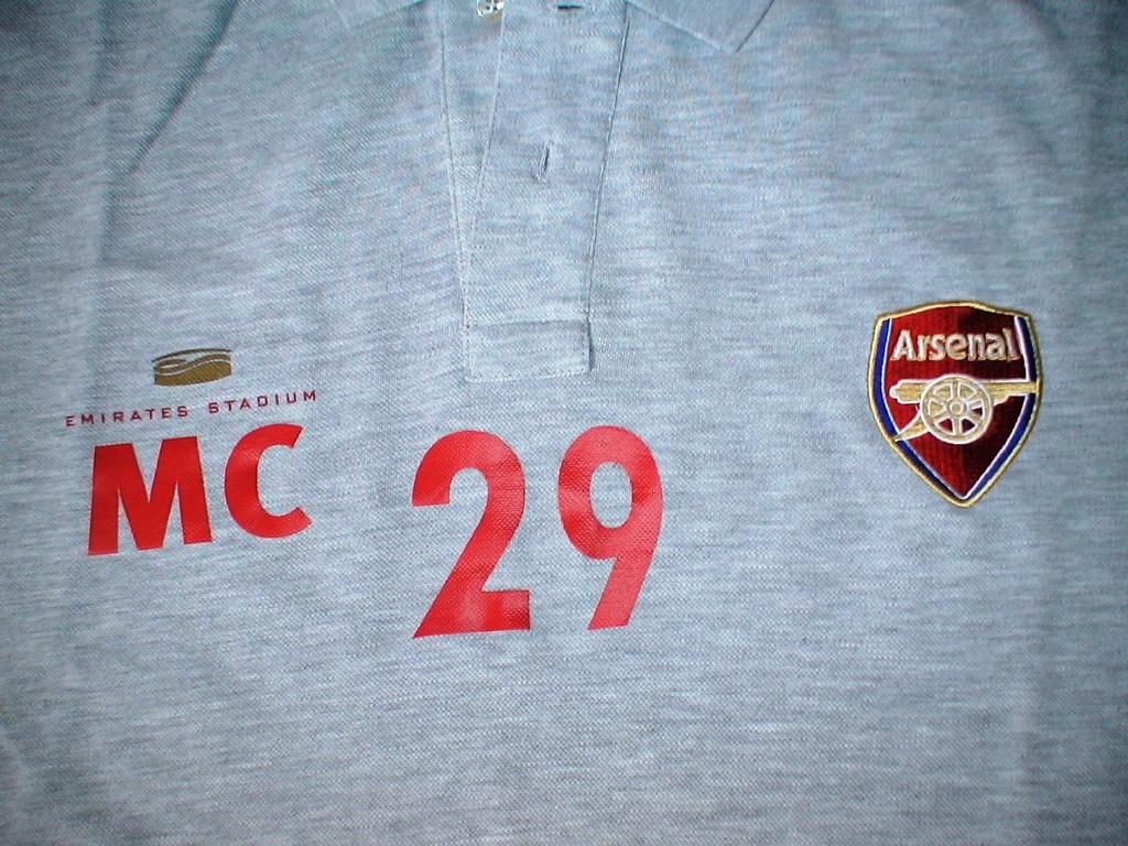 Polo Echauffement ou sortie Marouane Chamakh (Arsenal FC)