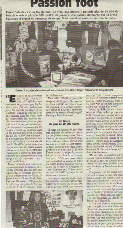 Pascal Collardey 2000 Semaine des Landes