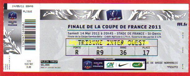 2011 : Lille OSC bat Paris SG 1 - 0