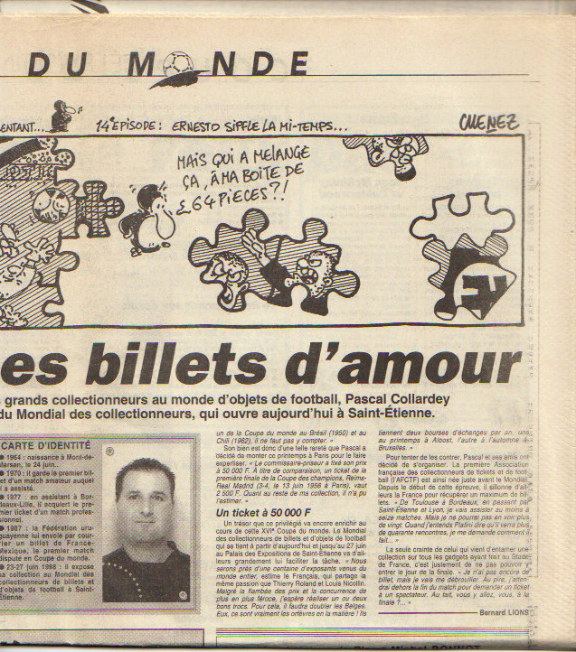 Pascal Collardey 1998 L'Equipe 2