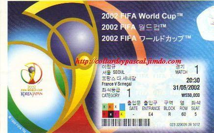 France  - Sénégal (Japon / Corée 2002)