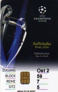 2004 à Gelsenkirchen :  FC Porto - AS Monaco  3 - 0