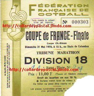 Finale 1970 AS St Etienne 5 - 0 FC Nantes