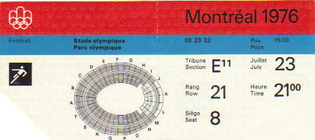 1976 Montréal : France - Israel