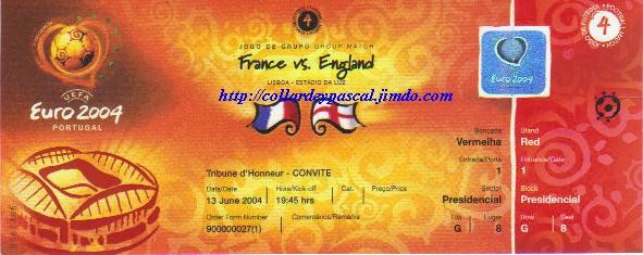 Euro 2004 : France - Angleterre