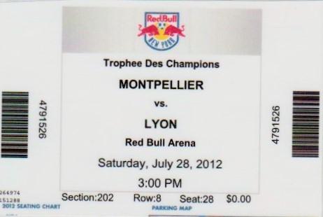 2012 à New-York : Ol. Lyonnais bat SC Montpellier 2 - 2 (4.2 tab)