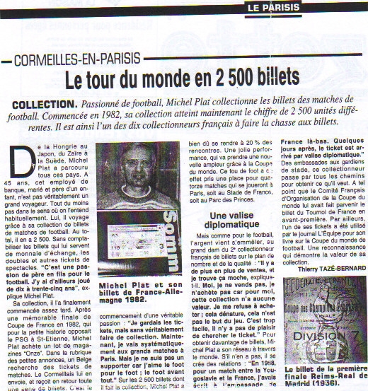 Michel Plat 1998 Le Parisis