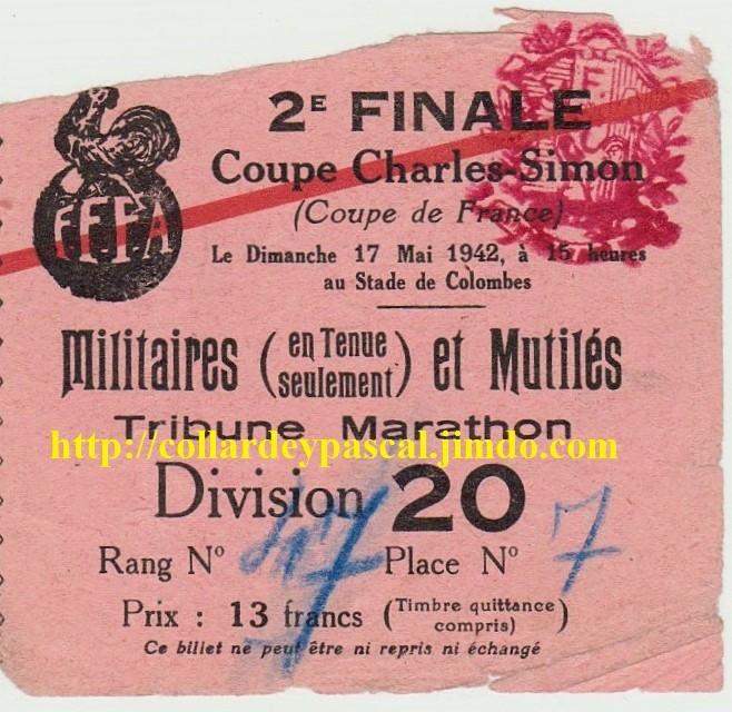 1942 Red Star bat Sète 2 - 0
