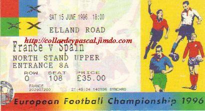 Euro 1996 : France - Espagne
