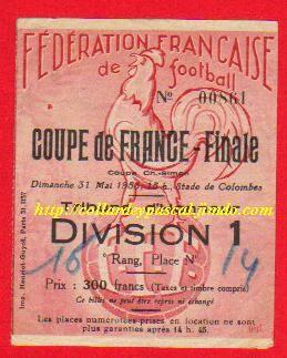 1953  Lille OSC  bat  FC Nancy  2 - 1
