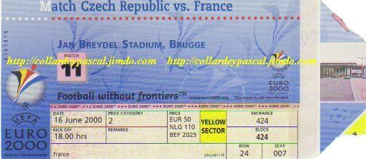 Euro 2000 : France - République Tchèque