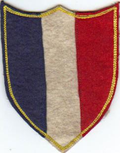 Ecusson de maillot Equipe de France début 1900