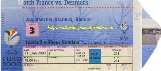 Euro 2000 : France - Danemark