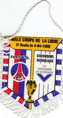 Finale Coupe de Ligue 98 PSG - Bordeaux
