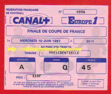 1987: G. Bordeaux bat Ol. Marseille 2 - 0
