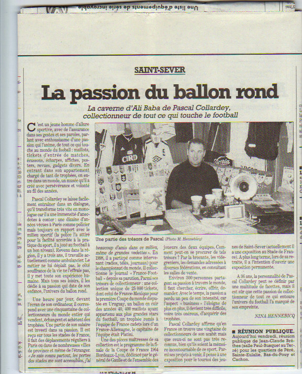 Pascal Collardey 2001 Sud Ouest