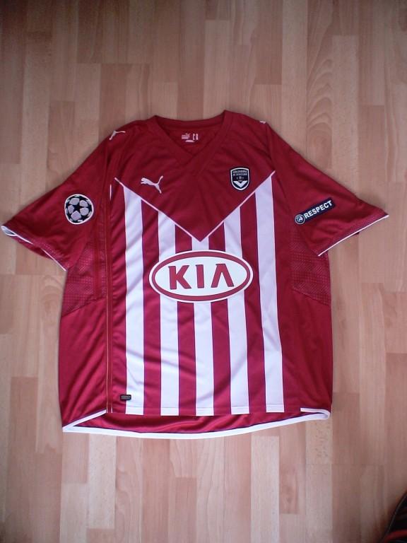 Yo Gourcuff Champions League 2009/10 (Préparé non porté)