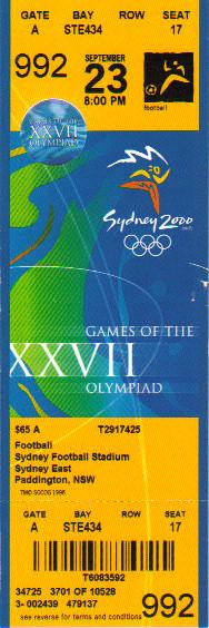 2000 Sydney : 1/4 Finale Espagne - Italie