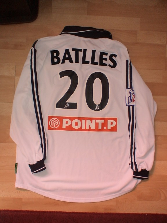 Laurent Battles - Chateauroux - Girondins Coupe de Ligue 2001