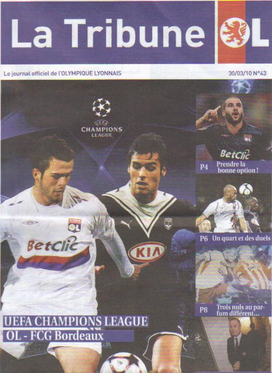 Olympique Lyonnais - Girondins