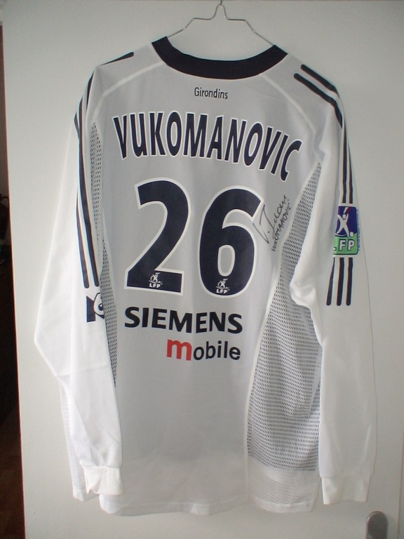 Vukomanovic - Contre France 1998 à Bordeaux