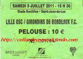Girondins 1 - 1 LOSC
