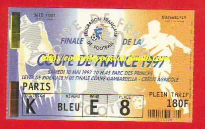 1997 : OGC Nice bat EA Guingamp 1 - 1 tab