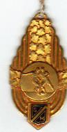 Unique : Médaille de 3éme Championnat de France Amateur 1948/49