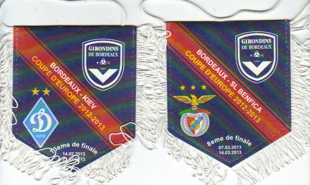 "Duo ""officiel"" Ligue Europa 2012/13 D. Kiev et SL Benfica"