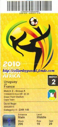 France  - Uruguay (Afrique du Sud 2010)