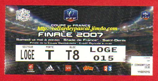 2007 : FC Sochaux M bat Ol. Marseille 2 - 2 tab