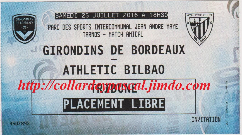 Girondins 2 - 2 Athletic Bilbao