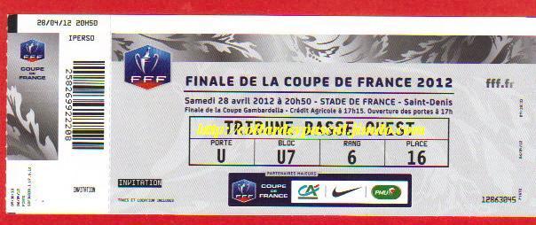2012 : Ol. Lyon bat US Quevilly  1 - 0
