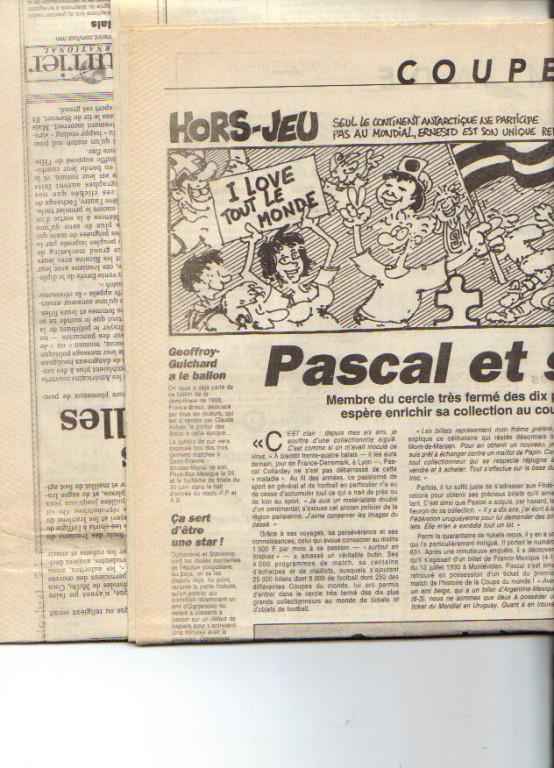 Pascal Collardey 1998 L'Equipe