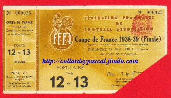 1939  RC Paris bat  Ol. Lillois 3 - 1