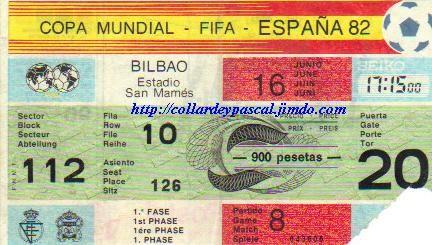 France - Angleterre (Espagne 1982)