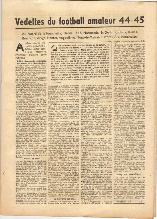 rare 44/45 Almanach annuel vantant les mérites montois