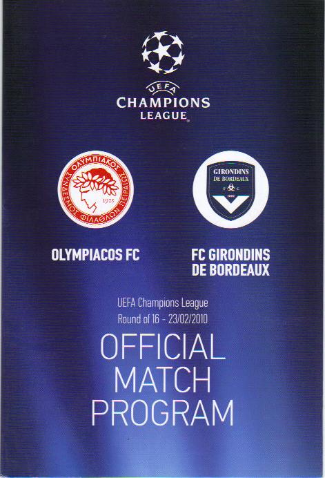Olympiakos FC - Girondins