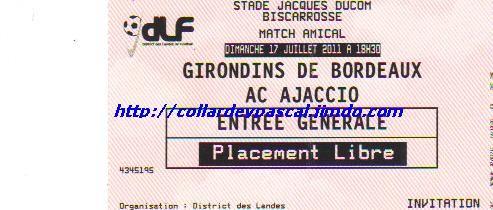 Girondins 2 - 1 ACA