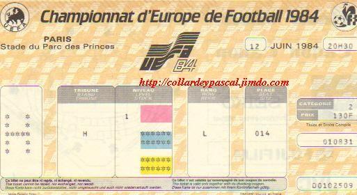 Euro 1984 : France - Danemark