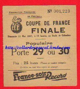 1947  Lille OSC  bat  RC Strasbourg  2 - 0
