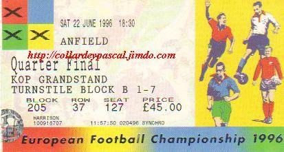 Euro 1996 : France - Pays-Bas 1/4 de Finale