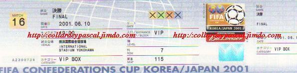 Coupe Confédérations 2001 : Finale France - Japon, La France remporte le Trophée