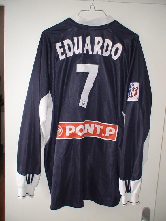 Eduardo Costa - CL contre O Lyonnais 2002