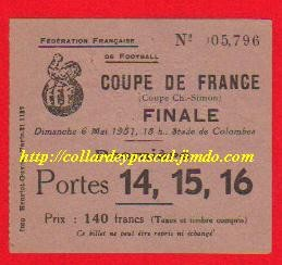 1951  RC Strasbourg  bat  US Valenciennes A  3 - 0