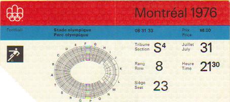 1976 Montréal: FINALE Allemagne de l'Est - Pologne