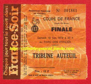 1979 : FC Nantes bat AJ Auxerre  4 - 1