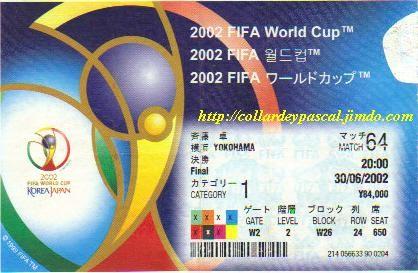 Brésil - Allemagne, Finale de la Coupe du Monde 2002